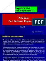 TEMA 02 Analisis Del Entorno Empresarial PDF