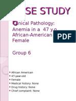 ClinPath (1) CASE STUDY 6 Anemia