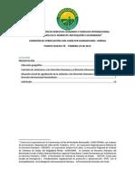 Informe  Comisión de Verificación Con Carácter Humanitario, Puerto Nuevo Ité