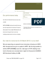 03 MARCH 2015 NSE