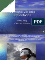 DomesticViolencePresentation.ppt