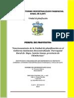 2013_p1_ Perfil Proyecto Funcionamiento de La Unidad de Planificacion