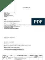 Lesson Plan Evaluation (Revision)