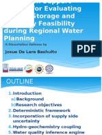 A Decision Support System for Evaluating Aquifer Storage and Recovery Feasibility during Regional Water Planning