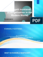 Evangelii Nuntiandi (Evangelization in the Modern World