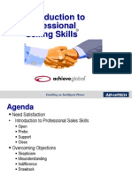 Advantech - PSS - Intro to Sales Skills