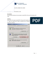 Installing PCL-818 ISA Interface Cards