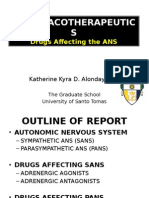 ANS Physiology and Drugs