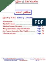 Wind Effect & End Gables