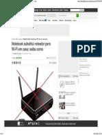 Olhar DigitaNotel_ Notebook Substitui Roteador Para Wi-Fi Em Casa; Saiba Como