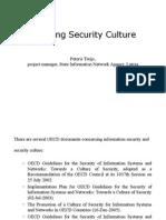 Peteris Treijs Defining Security Culture