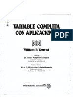 [Derrick William] Variable Compleja Con Aplicacion(BookZZ.org)