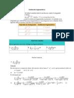 Integral Sustitucion Trigonometrica