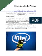 Intel lanza nuevos SoCs móviles y soluciones LTE