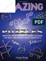 Amazing Aha Puzzles by Lloyd King