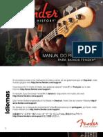 Fender BassGuitars Manual 2011