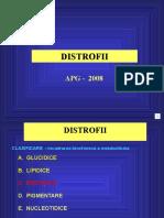 DISTROFII protidice