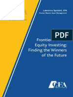 Frontier Market Equity Investing