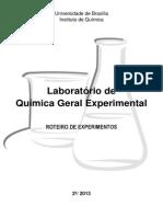 Quimica Geral Experimental - 2-2013