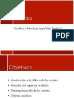 Clase Vocales Fonética y Fonología españolas
