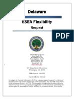 Delaware ESEA Flex Renewal Redline DRAFT 3-1-15
