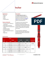 Quarter Turn Anchor Technical Datasheet
