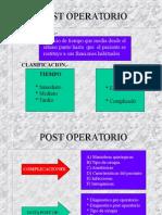 3ra Teorica - Postoperatorio Ppt