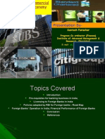 Role of Foreign Commercial Banks in Indian Economy