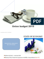 Union Budget 2015-A Brief Analysis