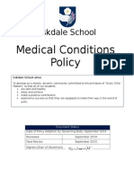 Medical Conditions Policy Sept 2014