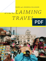 Reclaiming Travel by Ilan Stavans and Joshua Ellison