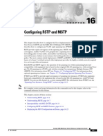 Configuring RSTP and MSTP