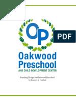 Oakwood Preschool Branding Guidelines Web