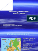 Balneoterapia in Romania Prezent Si Viitor Elena Valentina Ionescu1