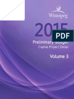 Winnipeg preliminary budget — Vol. 3