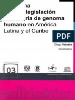 Panorama Sobre La Legislacion en Materia de Genoma Humano en America Latina y El Caribe