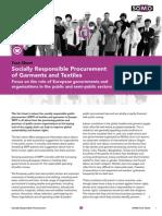 Socially Responsible Procurement Fact Sheet