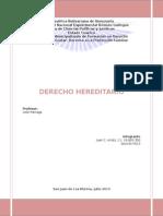 Trabajo de Derecho Hereditario
