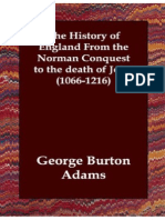 Adams - The History of England 1066-1216