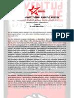 CONVOCATORIA CONGRESO CONSTITUTIVO JUVENTUD REBELDE