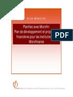 Microfin_plan de Développement Et Projections Financieres Pour Les Insitutions de Microfinance
