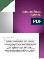 13. Concordância Nominal