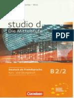 Studio d b2 Kurs- Und Uebungsbuch Teilband 2