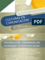 Exposicion Libro, Culturas en Comunicacion Capitulo 1 y 2