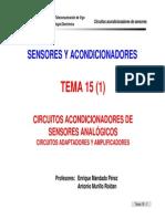 Sa Tema 15- Circuitos Acondicionadores 1