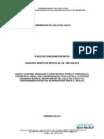 Modelo de Pliego Condiciones