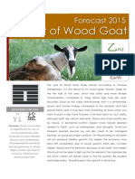 Year of Goat Forecast 2015