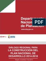 Datos Dnp Pnd 2014 2018
