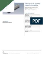 Perno y Casquillo de Cadena-Análisis Estático 1-2