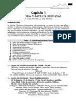1.- La Historia Clínica en Urgencias